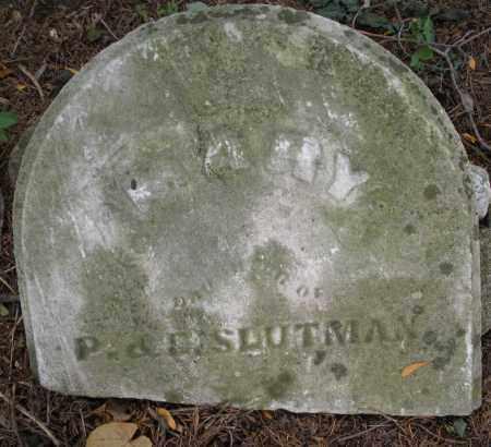 SLUTMAN, MARY - Montgomery County, Ohio | MARY SLUTMAN - Ohio Gravestone Photos