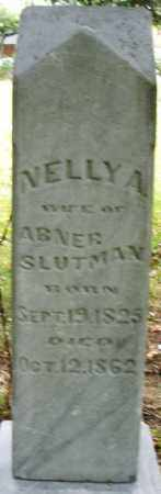 SLUTMAN, NELLY A. - Montgomery County, Ohio   NELLY A. SLUTMAN - Ohio Gravestone Photos