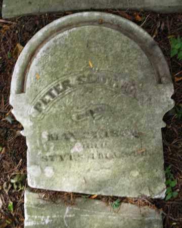 SLUTMAN, PETER - Montgomery County, Ohio | PETER SLUTMAN - Ohio Gravestone Photos