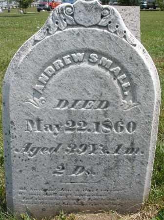 SMALL, ANDREW - Montgomery County, Ohio | ANDREW SMALL - Ohio Gravestone Photos