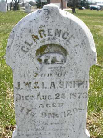 SMITH, CLARENCE E. - Montgomery County, Ohio   CLARENCE E. SMITH - Ohio Gravestone Photos