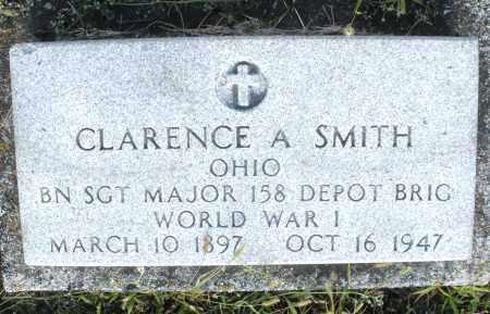 SMITH, CLARENCE A. - Montgomery County, Ohio | CLARENCE A. SMITH - Ohio Gravestone Photos