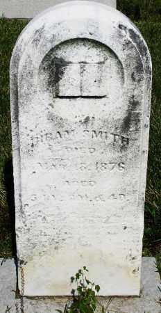 SMITH, HIRAM - Montgomery County, Ohio   HIRAM SMITH - Ohio Gravestone Photos