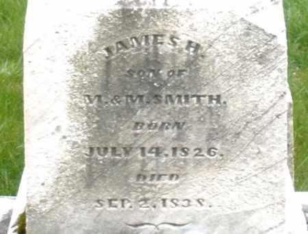 SMITH, JAMES H. - Montgomery County, Ohio | JAMES H. SMITH - Ohio Gravestone Photos