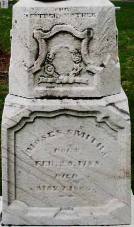 SMITH, MOSES - Montgomery County, Ohio | MOSES SMITH - Ohio Gravestone Photos