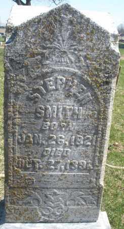 SMITH, STEPHEN - Montgomery County, Ohio   STEPHEN SMITH - Ohio Gravestone Photos