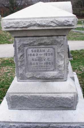 SNIDER, SARAH J. - Montgomery County, Ohio | SARAH J. SNIDER - Ohio Gravestone Photos