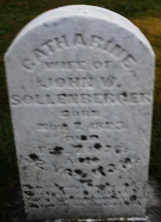 SOLLENBERGER, CATHARINE - Montgomery County, Ohio | CATHARINE SOLLENBERGER - Ohio Gravestone Photos