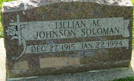 JOHNSON SOLOMAN, LILLIAN M - Montgomery County, Ohio | LILLIAN M JOHNSON SOLOMAN - Ohio Gravestone Photos