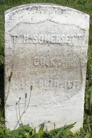 SOMERSETT, T.H. - Montgomery County, Ohio | T.H. SOMERSETT - Ohio Gravestone Photos