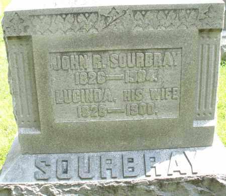 SOURBRAY, JOHN R. - Montgomery County, Ohio | JOHN R. SOURBRAY - Ohio Gravestone Photos
