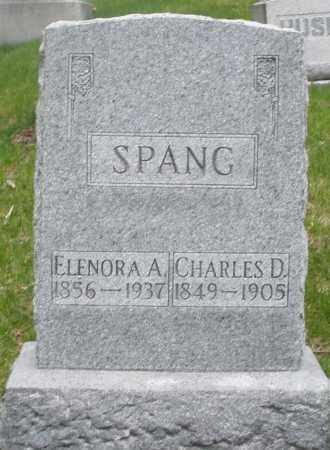 SPANG, CHARLES D. - Montgomery County, Ohio | CHARLES D. SPANG - Ohio Gravestone Photos