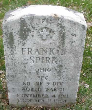 SPIRK, FRANK J. - Montgomery County, Ohio | FRANK J. SPIRK - Ohio Gravestone Photos