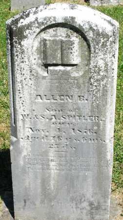 SPITLER, ALLEN - Montgomery County, Ohio | ALLEN SPITLER - Ohio Gravestone Photos