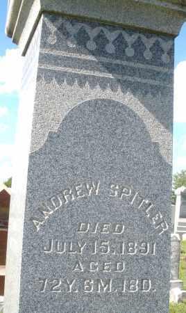 SPITLER, ANDREW - Montgomery County, Ohio   ANDREW SPITLER - Ohio Gravestone Photos