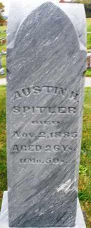 SPITLER, AUSTIN H. - Montgomery County, Ohio   AUSTIN H. SPITLER - Ohio Gravestone Photos