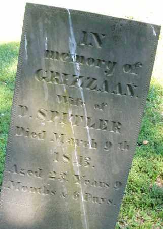 SPITLER, GRIZZAA N. - Montgomery County, Ohio | GRIZZAA N. SPITLER - Ohio Gravestone Photos