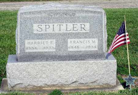 SPITLER, FRANCIS M. - Montgomery County, Ohio | FRANCIS M. SPITLER - Ohio Gravestone Photos