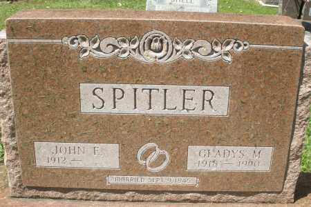 SPITLER, JOHN E - Montgomery County, Ohio   JOHN E SPITLER - Ohio Gravestone Photos