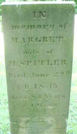 SPITLER, MARGARET - Montgomery County, Ohio | MARGARET SPITLER - Ohio Gravestone Photos