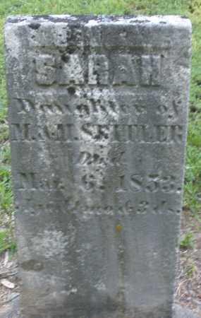 SPITLER, SARAH - Montgomery County, Ohio   SARAH SPITLER - Ohio Gravestone Photos