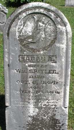 SPITLER, SARAH A. - Montgomery County, Ohio | SARAH A. SPITLER - Ohio Gravestone Photos