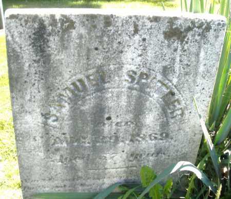 SPITLER, SAMUEL - Montgomery County, Ohio | SAMUEL SPITLER - Ohio Gravestone Photos