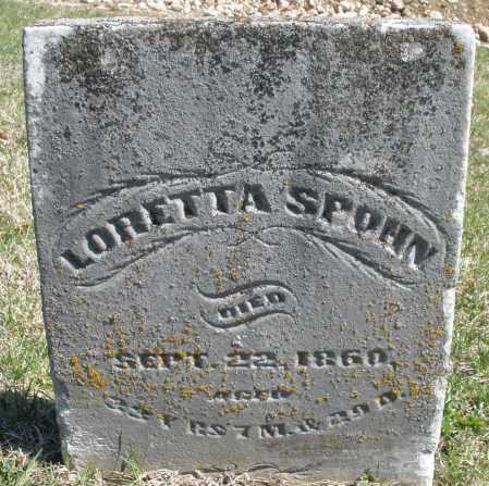 SPOHN, LORETTA - Montgomery County, Ohio   LORETTA SPOHN - Ohio Gravestone Photos