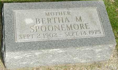 SPOONEMORE, BERTHA M - Montgomery County, Ohio | BERTHA M SPOONEMORE - Ohio Gravestone Photos