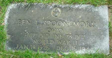 SPOONEMORE, BEN L - Montgomery County, Ohio | BEN L SPOONEMORE - Ohio Gravestone Photos