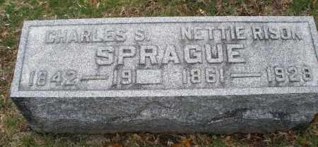 RISON SPRAGUE, NETTIE - Montgomery County, Ohio | NETTIE RISON SPRAGUE - Ohio Gravestone Photos