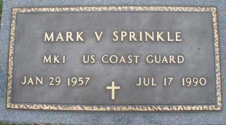 SPRINKLE, MARK V. - Montgomery County, Ohio   MARK V. SPRINKLE - Ohio Gravestone Photos