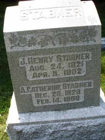 STABNER, A. CATHERINE - Montgomery County, Ohio | A. CATHERINE STABNER - Ohio Gravestone Photos
