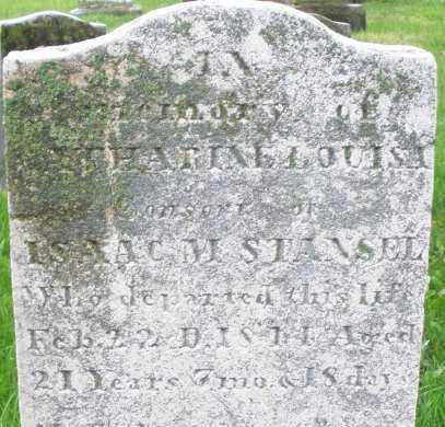 STANSEL, CATHARINE LOUISA - Montgomery County, Ohio | CATHARINE LOUISA STANSEL - Ohio Gravestone Photos