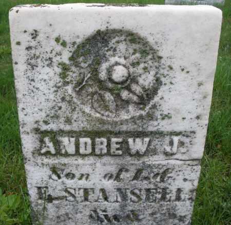 STANSELL, ANDREW J. - Montgomery County, Ohio | ANDREW J. STANSELL - Ohio Gravestone Photos