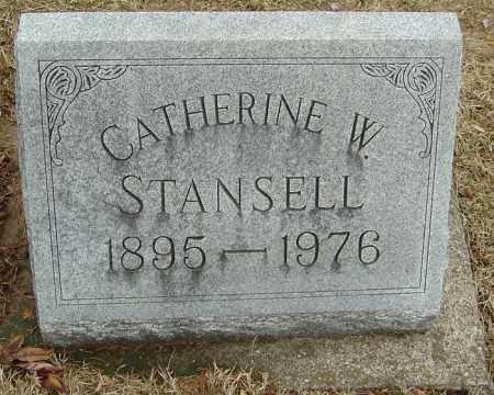 STANSELL, CATHERINE ELLEN - Montgomery County, Ohio | CATHERINE ELLEN STANSELL - Ohio Gravestone Photos