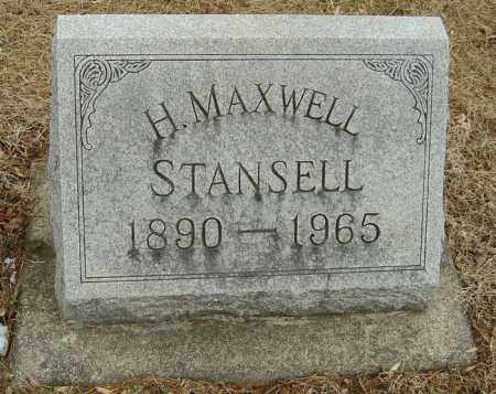 STANSELL, HARRY MAXWELL - Montgomery County, Ohio   HARRY MAXWELL STANSELL - Ohio Gravestone Photos