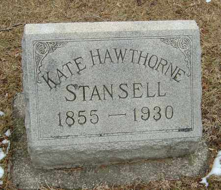 "STANSELL, HANNAH M ""KATE"" - Montgomery County, Ohio 