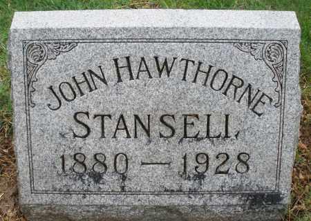 STANSELL, JOHN HAWTHORNE - Montgomery County, Ohio   JOHN HAWTHORNE STANSELL - Ohio Gravestone Photos