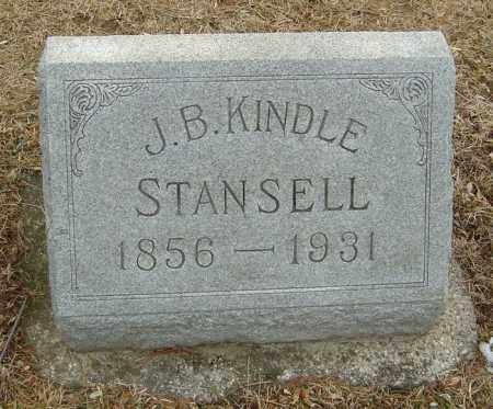 STANSELL, JOSEPH B KINDLE - Montgomery County, Ohio | JOSEPH B KINDLE STANSELL - Ohio Gravestone Photos