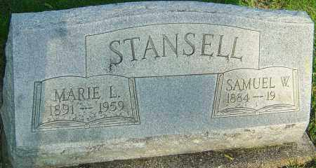 KAUFMAN STANSELL, MARIE L - Montgomery County, Ohio | MARIE L KAUFMAN STANSELL - Ohio Gravestone Photos