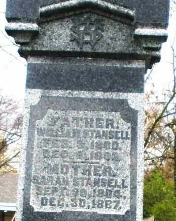 STANSELL, WILLIAM - Montgomery County, Ohio   WILLIAM STANSELL - Ohio Gravestone Photos