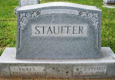 STAUFFER, WILLIAM RICHARD - Montgomery County, Ohio | WILLIAM RICHARD STAUFFER - Ohio Gravestone Photos