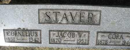 STAVER, JACOB W. - Montgomery County, Ohio | JACOB W. STAVER - Ohio Gravestone Photos