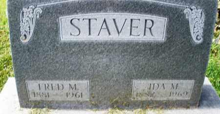 STAVER, IDA M. - Montgomery County, Ohio | IDA M. STAVER - Ohio Gravestone Photos