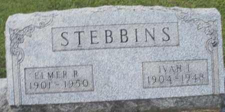 STEBBINS, IVAH I. - Montgomery County, Ohio | IVAH I. STEBBINS - Ohio Gravestone Photos
