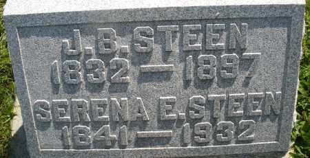 STEEN, SERENA E. - Montgomery County, Ohio | SERENA E. STEEN - Ohio Gravestone Photos