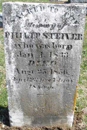 STEIVER, PHILIP - Montgomery County, Ohio | PHILIP STEIVER - Ohio Gravestone Photos