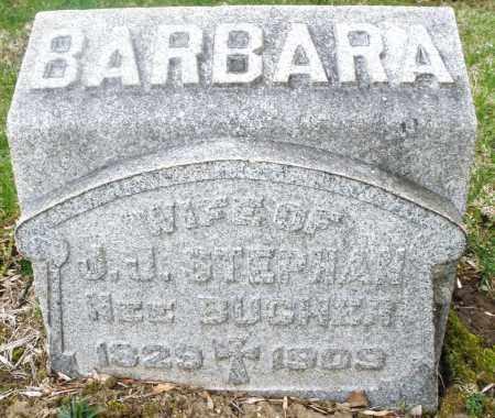 STEPHAN, BARBARA - Montgomery County, Ohio | BARBARA STEPHAN - Ohio Gravestone Photos