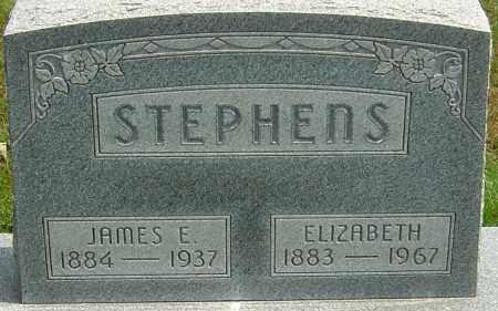 STEPHENS, JAMES E - Montgomery County, Ohio   JAMES E STEPHENS - Ohio Gravestone Photos